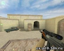 AK 47 with AWP Scope